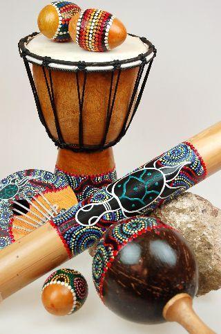 Muziek instrumenten Sarana