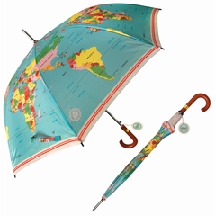 Paraplu Wereldkaart Lighthouse