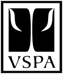 VSPA logo zwart